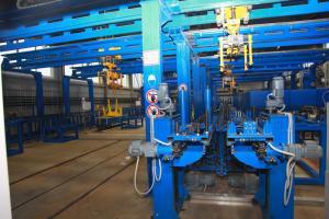 Автоматизированная линия восстановления литых деталей тележки грузового вагона